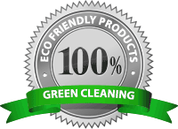 Seal for eco & green carpet cleaning